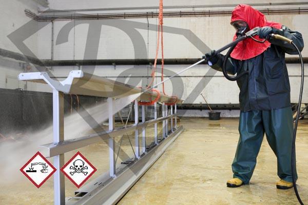 Decapaggio chimico degli acciai inossidabili - risciacquo