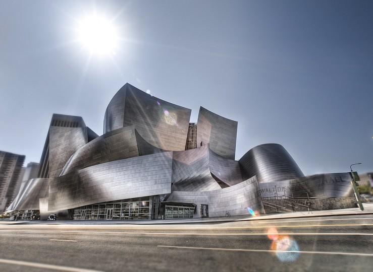 La passivazione acciaio inox - Walt Disney Concert Hall