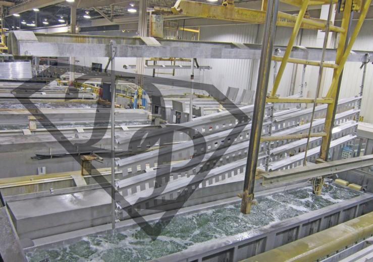 Passivazione elettrochimica di acciaio inossidabile