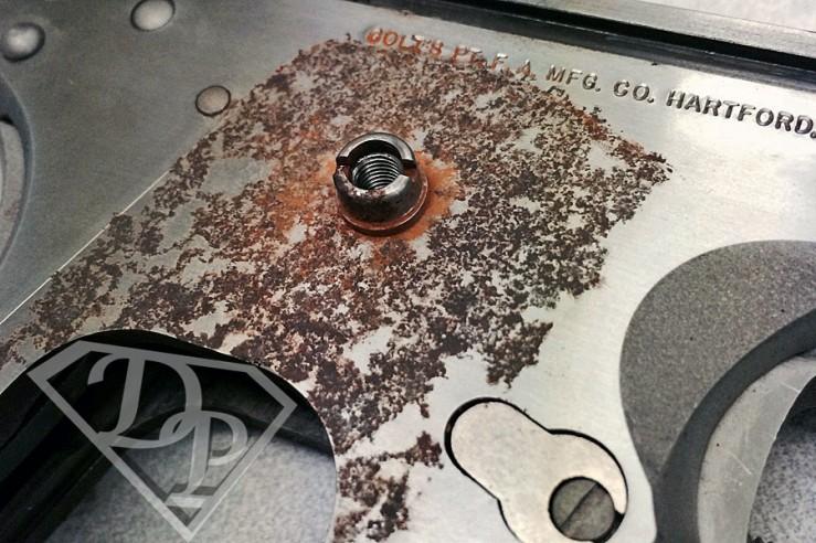 Colt Series 80 Gold Cup 1911 Inox Corrosione