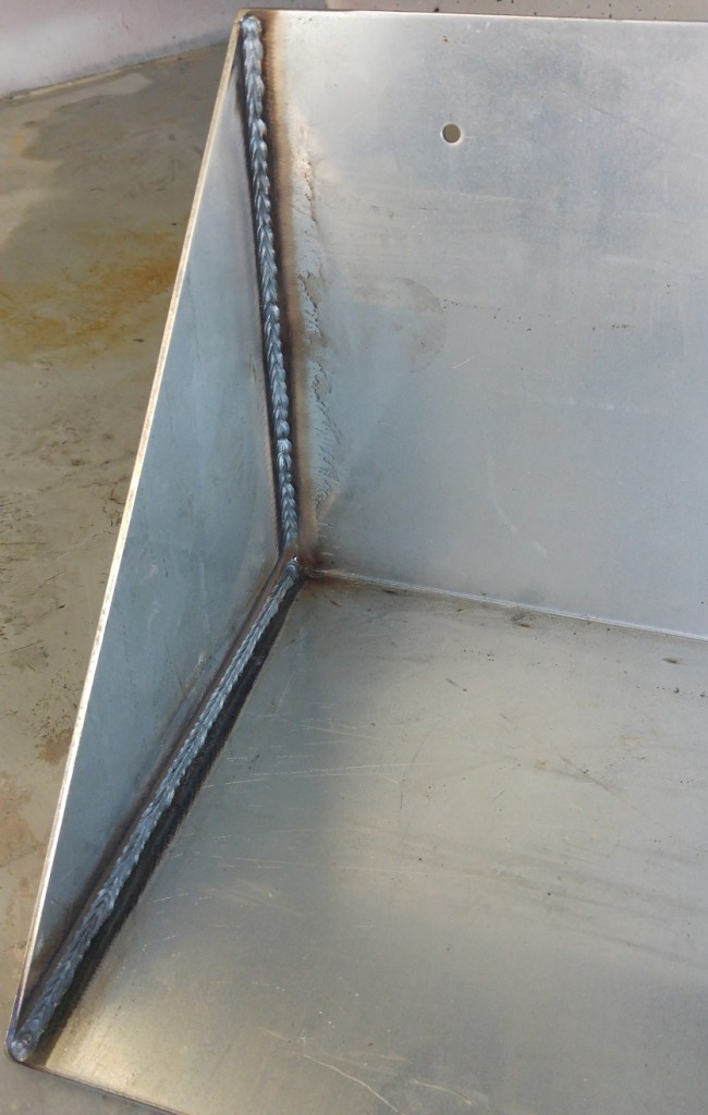 STAINLESS STEEL WELD CLEANING PASSIVATION