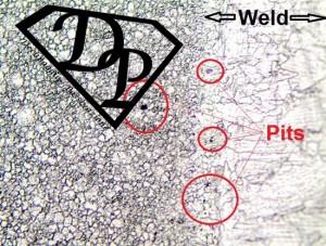 Decapaggio con pennello in Carbonio: Lucidatura e pitting