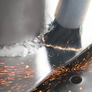 Tig carbon Brush and sparks